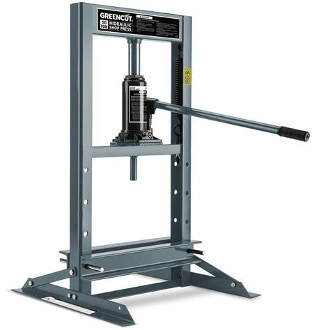 garaje y talleres prensa hidraulica robusta 10 toneladas de presion para