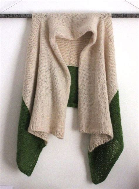 Sweater Advocado unku one size color block knit mohair wrap sweater avocado green projects to try