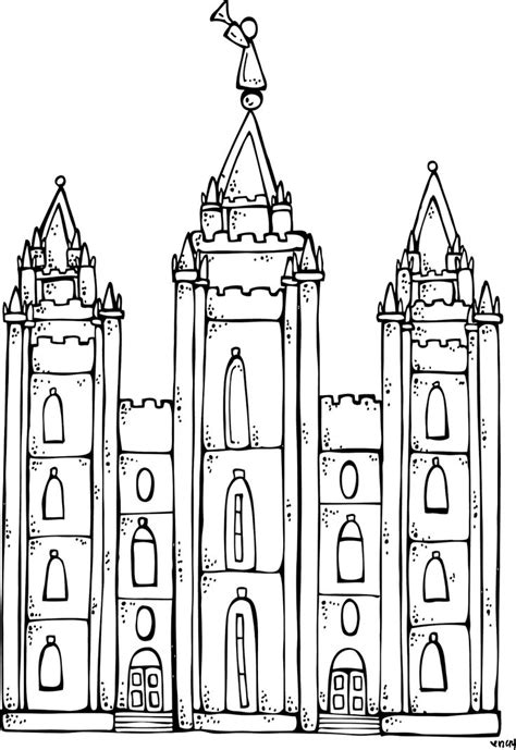 lds clipart temple clipart mormon temple pencil and in color temple