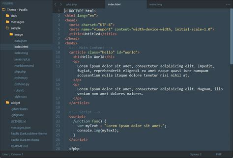 sublime text 3 theme creator github hrsetyono theme pacific sublime 3 theme based on