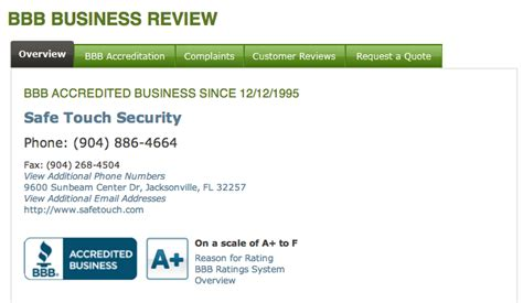 safetouch security reviews real customer reviews