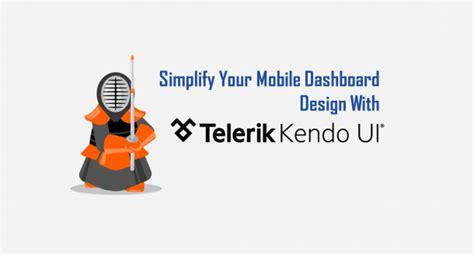 kendo ui for mobile kendo ui mobile dashboard design