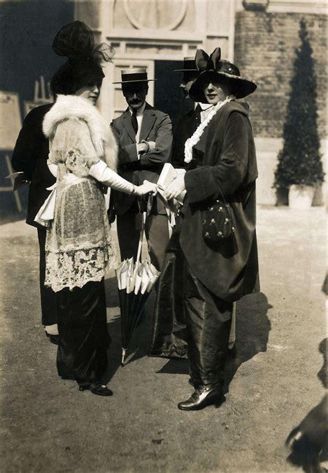styles of 1914 fashion at deauville 1914 het geheugen van nederland