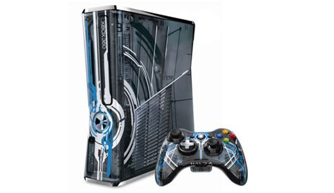 halo console xbox 360 320gb limited edition halo 4 console refurbished
