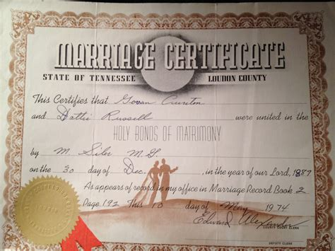 Marriage Records Tennessee What S The Evidence Determining Where Govan Cureton Was