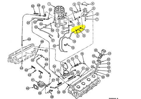 7 3 powerstroke fuel line diagram 97 ford f350 diesel 7 3 powerstoke fuel line needs
