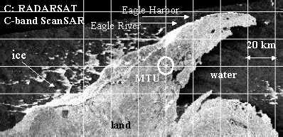 eagle river, mi hyperspectral imagery