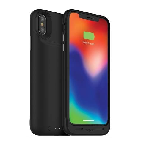 juice pack air wireless iphone x battery mophie