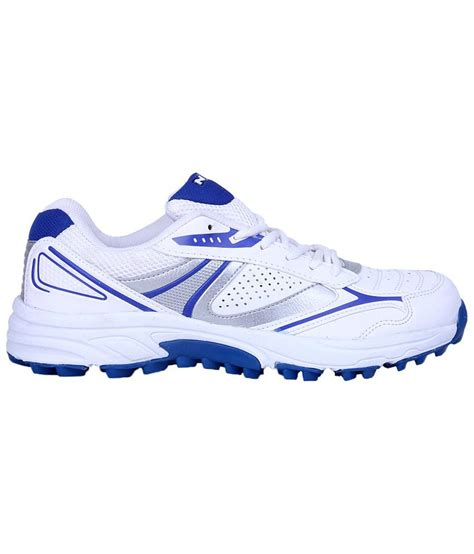 sports shoes auckland nivia white blue auckland cricket shoes for buy