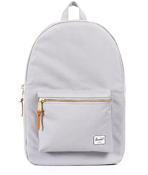 light pink herschel backpack herschel supply co settlement light grey lunar rock 17l