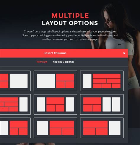 wordpress multiple layout build website muscles with the ironmass a professional