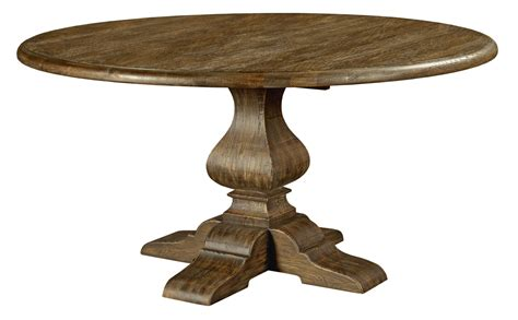Artisans Table by Artisans Shoppe 60 Quot Tobacco Dining Table With Wood Base From 90 4175p Coleman