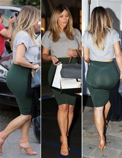 kim kardashian hot and sizzling huge booty photo shoot kim kardashian flaunts sexy post baby butt in tightest