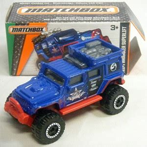 Matchbox Jeep Wrangler Superlift matchbox power grabs jeep wrangler superlift global diecast direct
