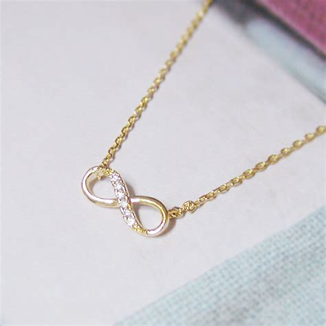 gold infinity necklace jewelry infinity necklace in gold everyday jewelry delicate