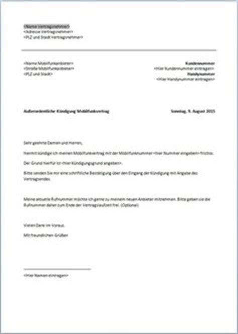 Kfz Versicherung K Ndigen Vorlage Huk24 by Handyvertrag K 252 Ndigen K 252 Ndigungsschreiben Vorlage Und