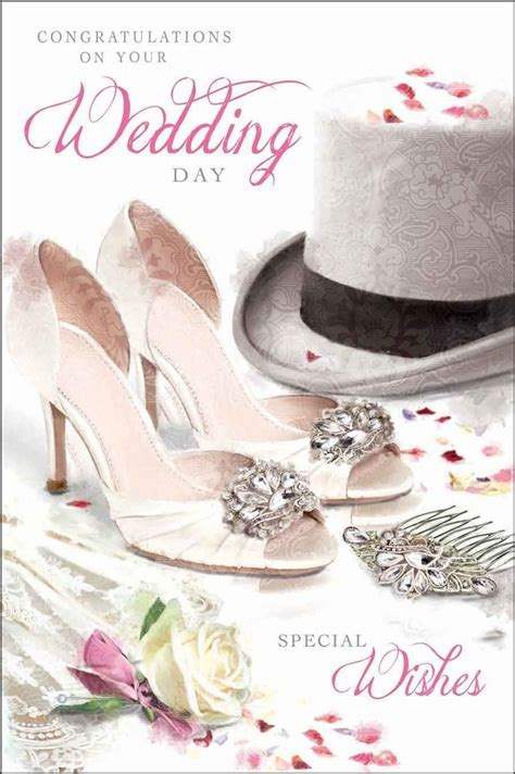 Wedding Day Card Jonny Javelin   Top Hat & Shoes
