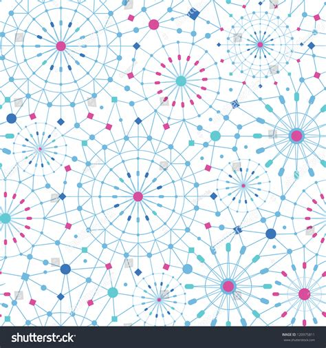 vector line pattern tutorial vector blue abstract line art circles seamless pattern