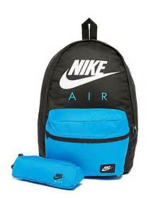 Duvet Covers Boys Bag Nike Backpack Bag Blue Black White