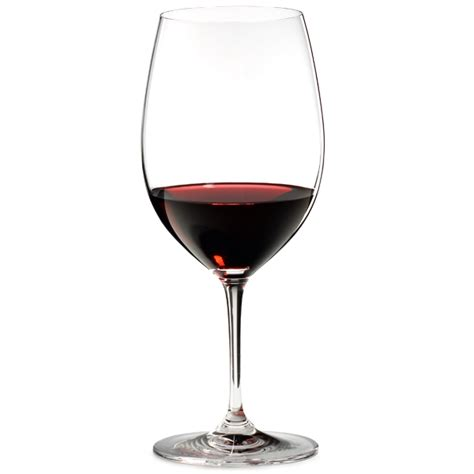 riedel barware riedel vinum bordeaux wine glasses 21 5oz 610ml