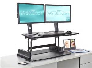 standing out with a stand up desk varidesk standing desk