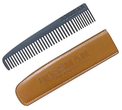 Paten Uh Bedak Tabur Powder bossman powder coated metal beard mustache comb patent pending design eliminates snagging of