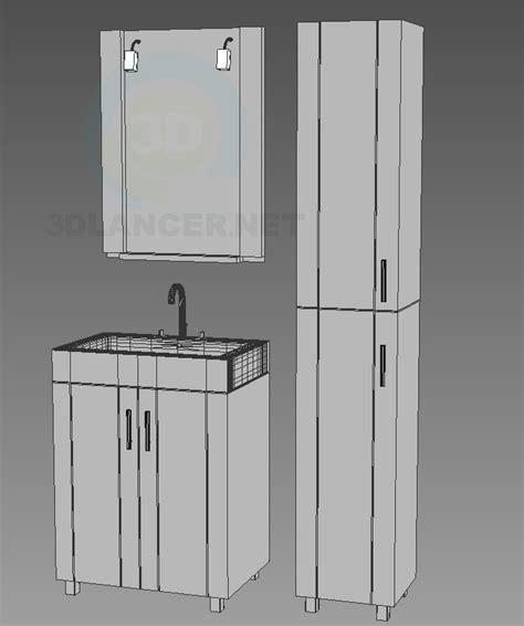 glass bathroom furniture 3d model edelform bathroom furniture glass series neo