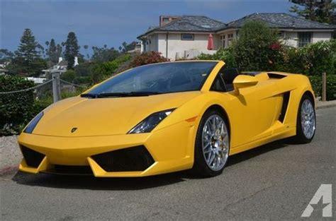 Lamborghini For Sale In California Lamborghini Gallardo For Sale In San Diego California