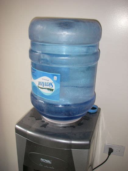 Water Dispenser Refill how to refill a 5 gallon water dispenser 5 steps with pictures