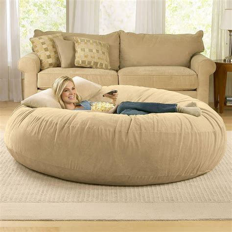 bean bag chaise giant bean bag chairs the green head
