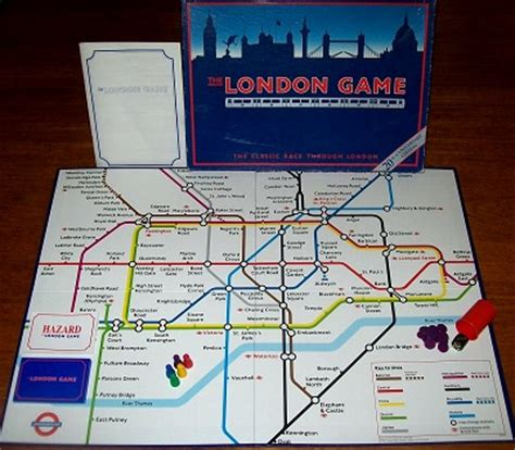 the london game | board game by toy brokers | vintage
