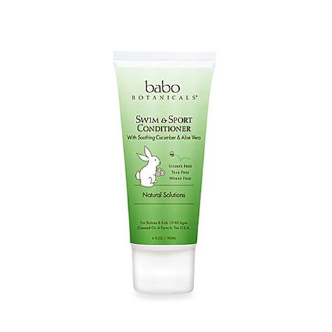 Swim Bed 1 buy babo botanicals 174 swim sport conditioner in cucumber