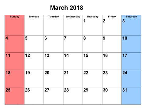 printable calendar editable 2018 march 2018 calendar editable printable free printable