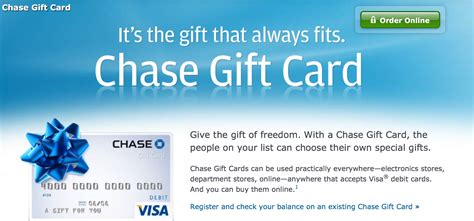 Chase Rewards Gift Card Deals - citi visa gift card balance