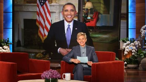 Degeneres Starts A Barack by Pres Barack Obama On Breaking His Record