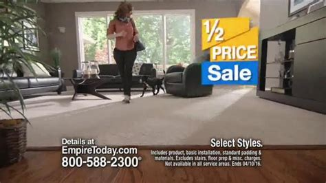 empire today half price sale tv spot beautiful floors