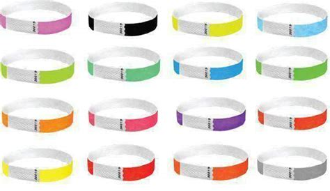 Trendywristbands Event Wristband Template