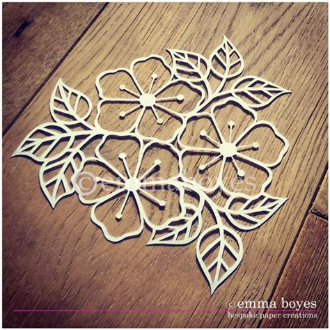 brown pattern cutting paper items similar to printable pdf paper cutting template