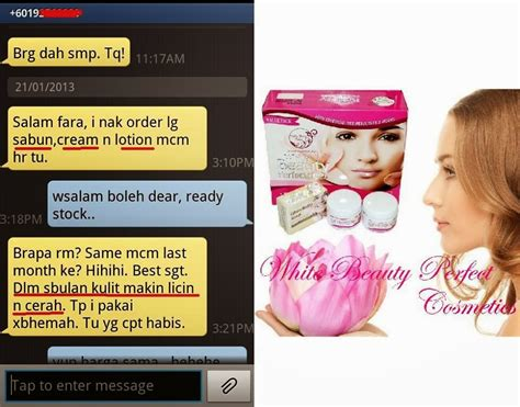 Penggunaan Pack simply addorable value pack 3in1 produk white dan testimony