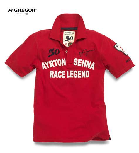 Kaos Formula 1 Aryton Senna giz images polo post 30