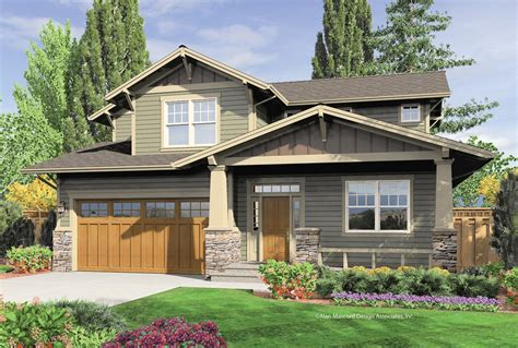 2 story country house plans one or two craftsman plan