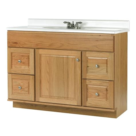 allen and roth bathroom vanities shop allen roth castlebrook honey bathroom vanity