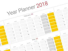 Calendar Planner 2018 Wall Daily Planner 2018 Yearly Wall Planner Agenda Template