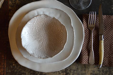Handcrafted Dinnerware - ceramic dinner plates white dinnerware plates white on