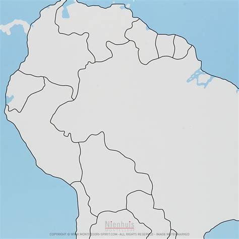 unlabeled map of america south america map unlabeled montessori spirit