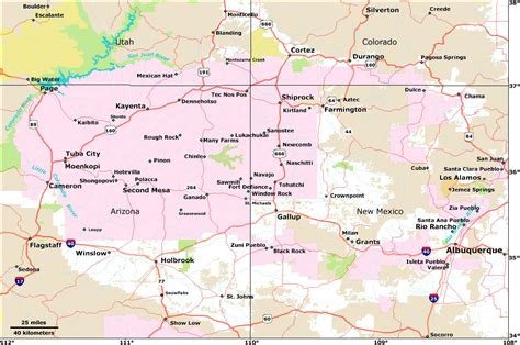 road map four corners usa road map four corners usa 28 images pin four corners