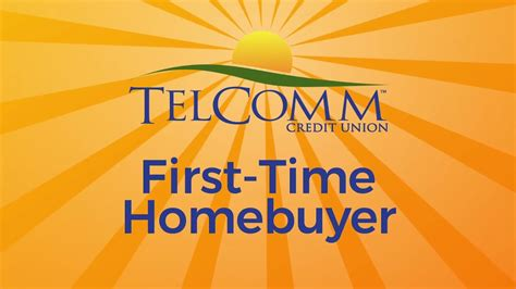 time home buyer tips telcomm credit union depot