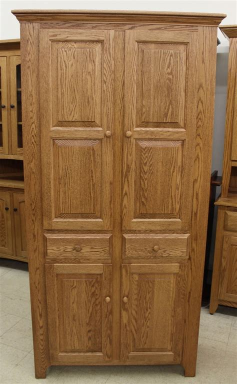 pantry cabinet  drawers amish traditions wv