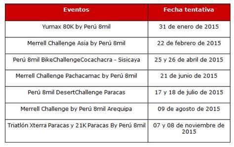 Calendario X Terra 2015 Calendario Xterra 2015 Calendar Template 2016