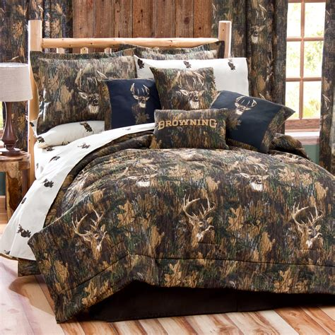 browning bedroom set browning comforter set whitetail deer bedding areas